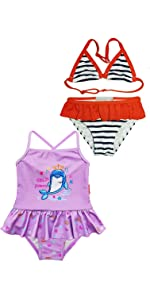 Toddler Girls Bikini 2 Pack