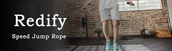 Redify speed jump rope