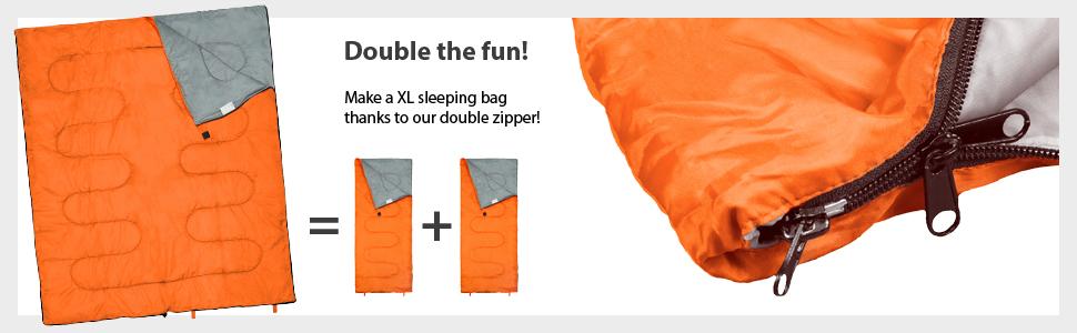 large sleeping bag