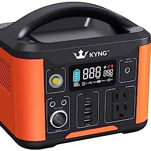 Kyng 540Wh Portable Solar Generator