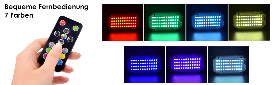 Stroboscoop disco licht