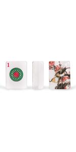 "Set of 166 American Mahjong Tiles, ""Little Bird"""