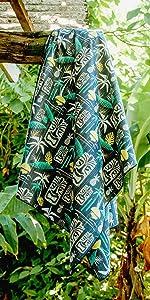 Ripskirt, Hawaii, wrap, towel, dry