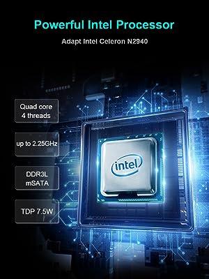intel celeron n2940 processor, powerful performance