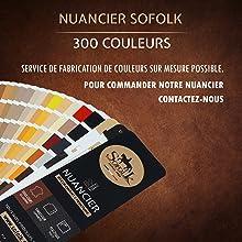 Nuancier Sofolk 300 couleurs