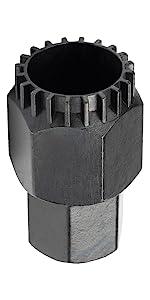 8 Notch Bottom Bracket Tool Sleeve Repair Black Lock Bearing Cartridge