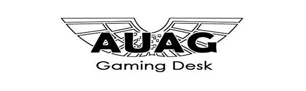 AuAg gaming computer desk