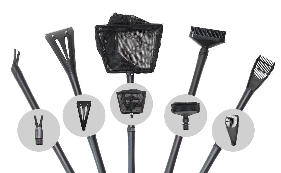 Aquarium cleaning tool kit