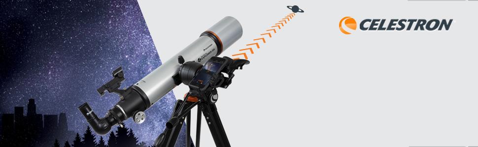 StarSense Explorer DX 102AZ Smartphone App-Enabled Refractor Telescope