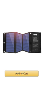 21W solar charger