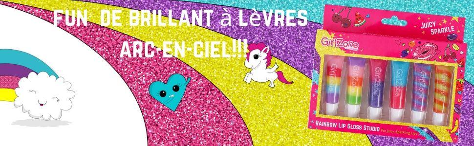 Ans Anniversaire Baume Baumes Cadeau Cadeaux Enfant enfants Fille Filles Brillant Lèvres Maquillage