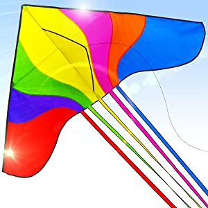 MINI PTERODACTYL KITE NV322 FLYING HIGH REEL STRING KITES COLOURFUL KIDS FUN