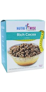 cereal chocolate breakfast high protein low calorie medical grade weight loss doctor healthy