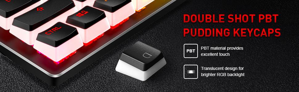 pudding keycaps keyboard