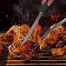 Grilling Fork For Holding Meats