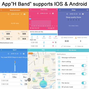 "App ""H Band"""