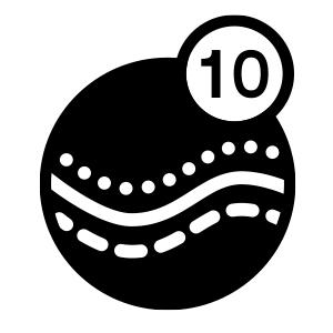 10+ vibration modes