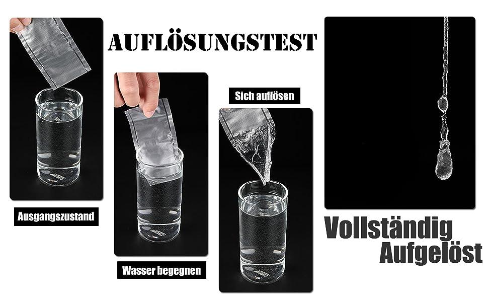 20x//Bag Karpfenangeln Köder PVA Auflösen Tasche Wasserlösliche Tackle 4ZJP