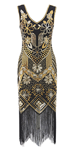 Metme Great Gatsby Costume Dress