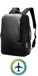 business backpack travel friendly backpack 15.6 travel backpack leather men office backpack work
