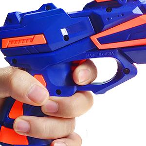 2 Gafas Protectoras Pistola Bl/áster con 60 Flechas//Balas 2 Pcs Pistola de Juguete Ni/ños Juegos Tiro Pistola de Ninos Pistola de Dardos Espuma Infantil Regalo de Cumplea/ños Ni/ños Ni/ñas 3-10 A/ños