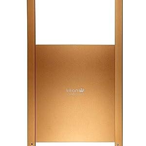 Puerta metálica corredera para gallinero Titan Incubators: Amazon ...
