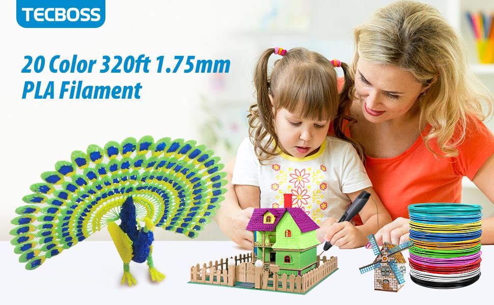 3D pen filament 1.75mm