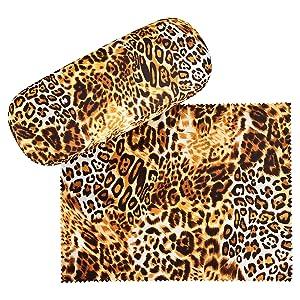 von Lilienfeld Estuche Gafas Funda Ligeramente Estable Leo Colorido Regalo Mujer Hombre Motivo Depredador Felino: Amazon.es: Ropa y accesorios