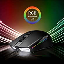 1  ABKONCORE Gaming Mouse A900 [16,000 DPI], Wired, USB Computer Mice with 8 Programmable Buttons, PWM 3389 Sensor, RGB Backlit, Comfortable Grip Both Handed Mice for Laptop, PC, Mac, Windows f3e41d29 f0d0 4ff2 b11f 0f99321e57f9