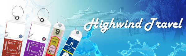 Highwind Cruise Luggage Tags