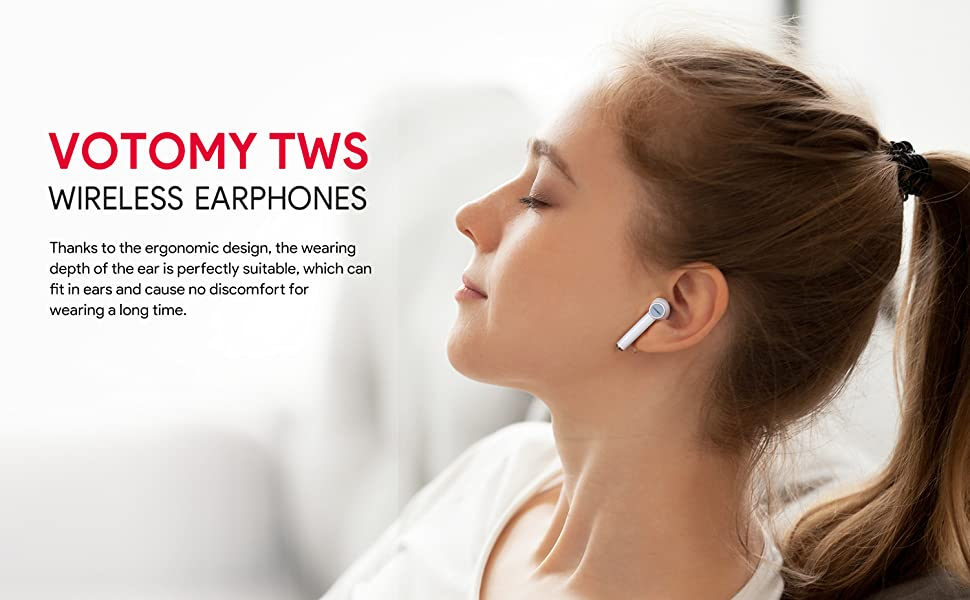 TWS wireless earbuds headphones Bluetooth 5.0