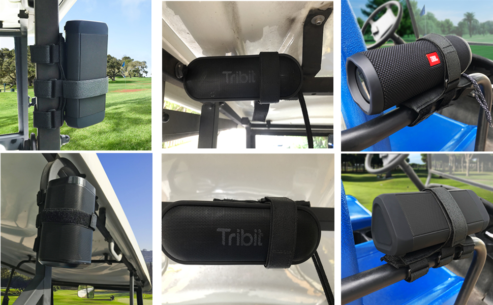 Golf Cart Speaker Holder