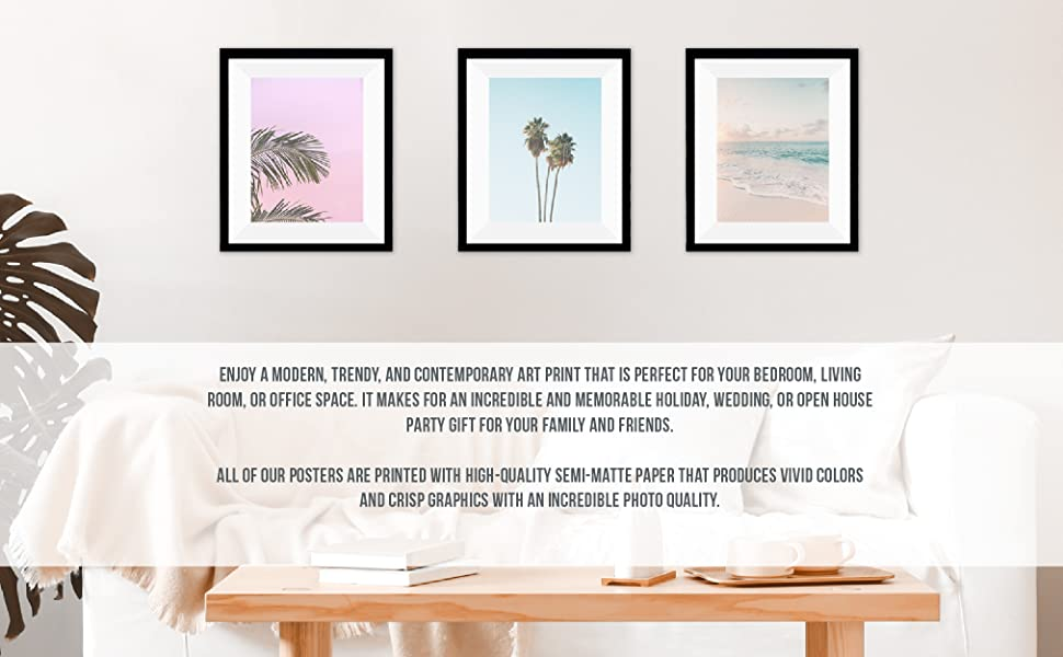 beach posters photography decoration