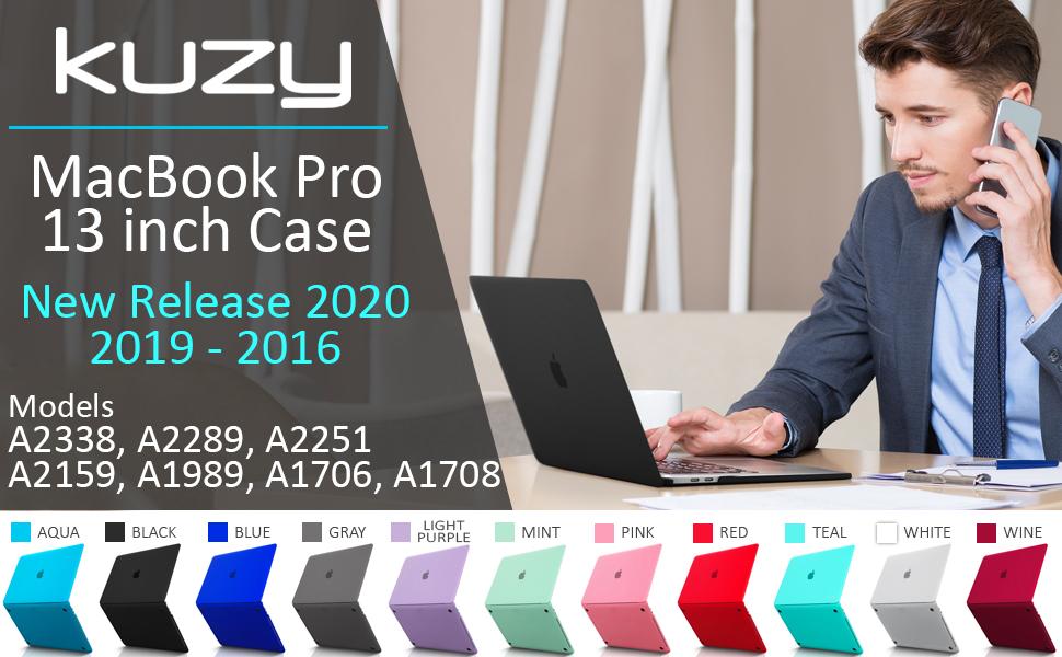 macbook pro 13 inch case 2020 2019, 13 inch macbook pro case A2338 A2289 A2251 A2159 2021 latest new