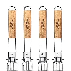 Foldable Oak Wood Handle