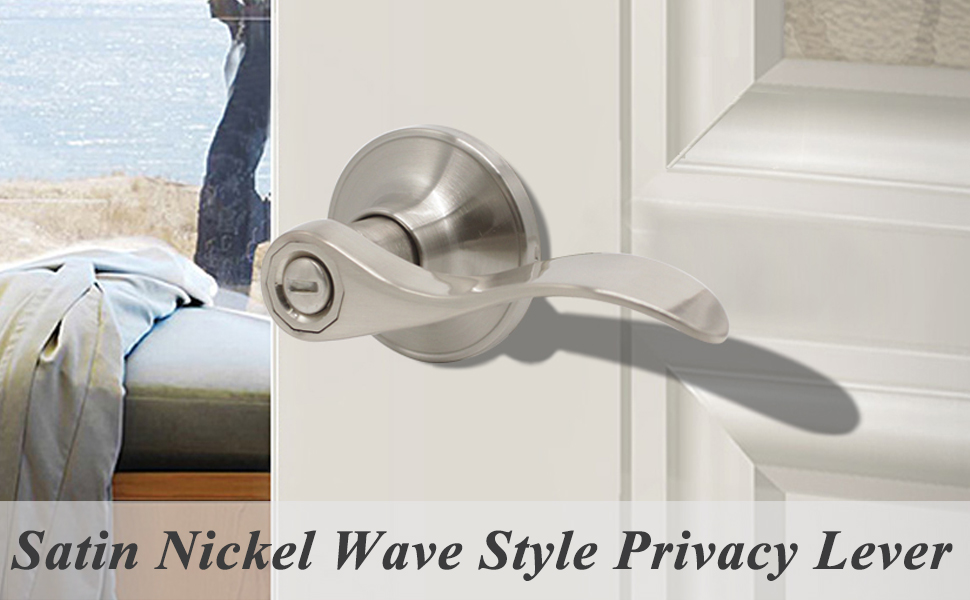 wave style privacy lever