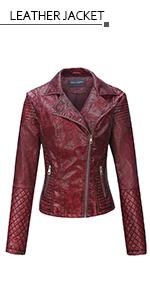 Amazon.com: Bellivera Womens Faux Leather Casual Short ...