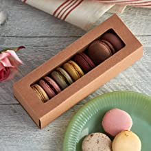 Cupcake Macaron Box