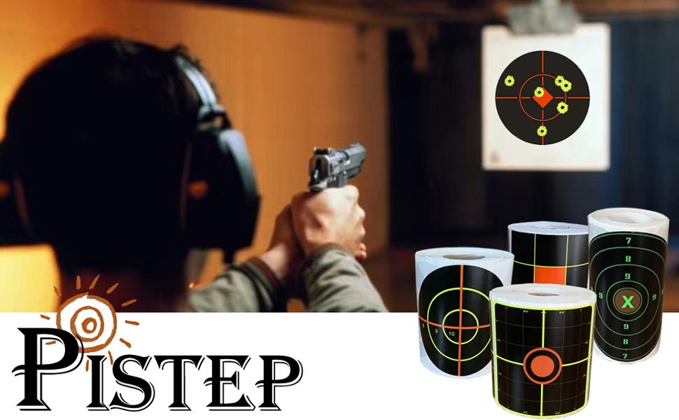 PISTEP Splatter Targets