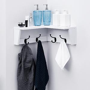 Corner Coat rack