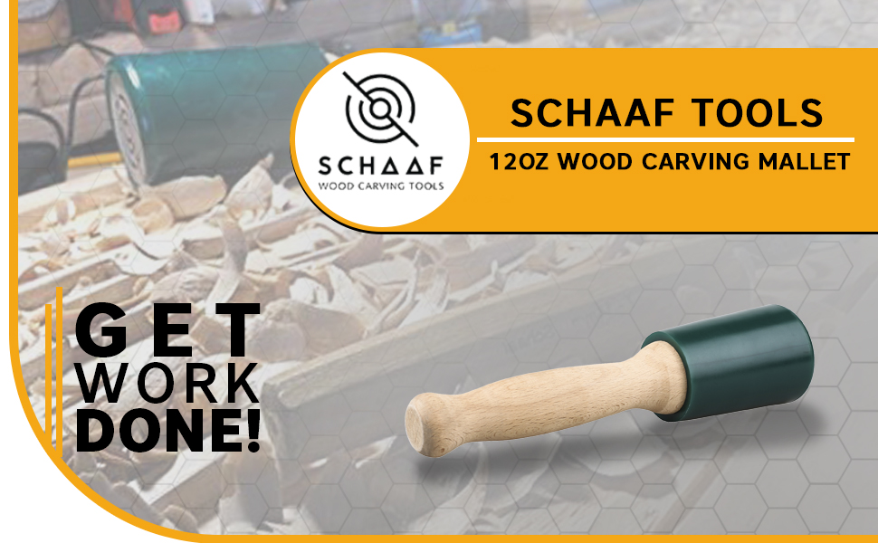 Schaaf Tools Woodcarving Mallet