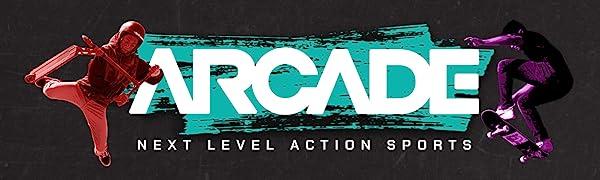 Arcade Action Sports Logo