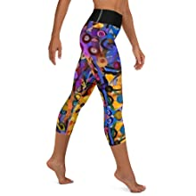 Whimsy Fit leggings workout fitness pocket high waistband slimming soft comfortable  colorful