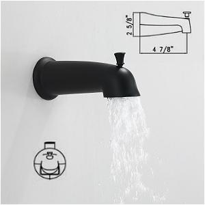 Shower System Matte Black