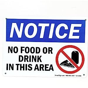 Plastic Notice Sign