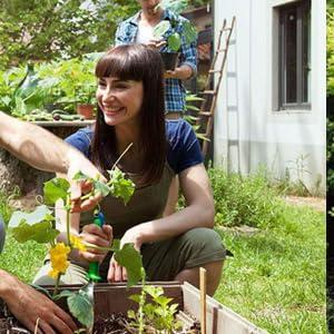Ezonedeal Garden Genie Gloves with Claws