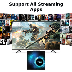 streaming apps smart tv box