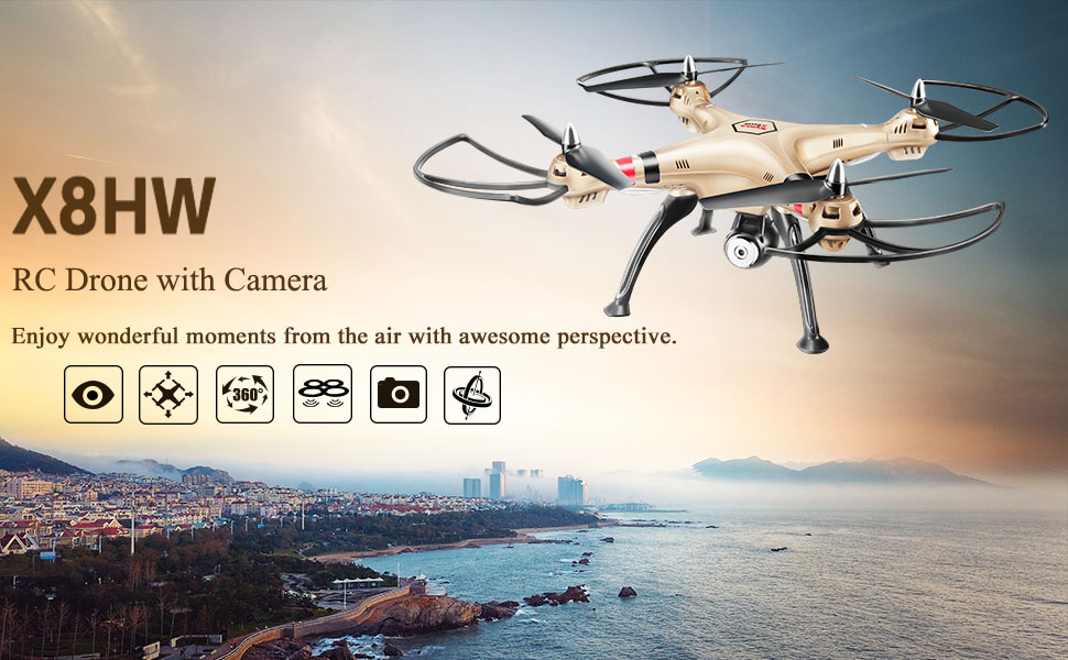 X8HW RC DRONE WITH CAMERA
