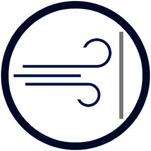 picto-gramm icon wind-schutz brise zugwind zugluft kreis seiten-wind böe ungestört sitzen liegen