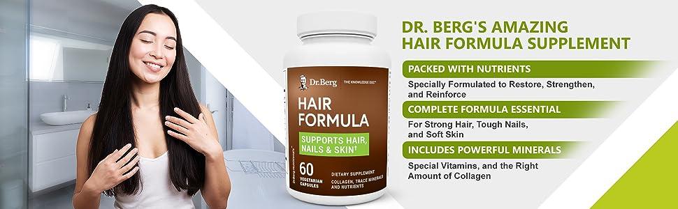 Dr Bergs Amazing Hair Formula Supplement